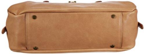 Marc O'Polo Accessories Abigail 11552 22000 301, Borsa bowling donna, 12x22x40 cm (L x A x P) Beige (Beige (sand 22000))