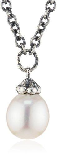Trollbeads Silber Fantasy Halskette mit Perle, 60 cm (Perle 60 Halskette)