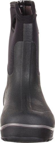 BOGS Classic Ultra, Unisex - Erwachsene Gummistiefel mit halbhohem Schaft Schwarz (Schwarz)