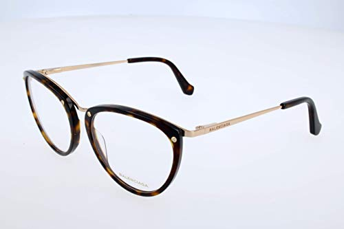 Balenciaga Damen Brillengestelle, Black, 51