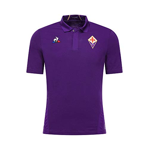 383a20b1602 Le Coq Sportif 2018-2019 Fiorentina Home Football Soccer T-Shirt Camiseta  (Kids