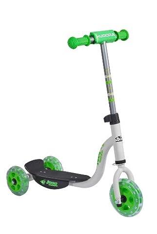 HUDORA Kinderroller Joey 3.0 weiß/grün - Scooter Kinder -