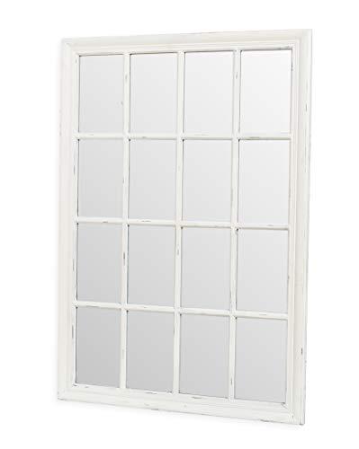PEÑA VARGAS - Espejos Clásicos - Espejo Ventana Domine Blanco 115x80