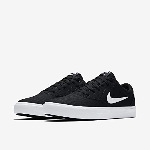 Nike Herren Sb Charge Solarsoft Skateboardschuhe, Schwarz (Black/White 002), 42.5 EU