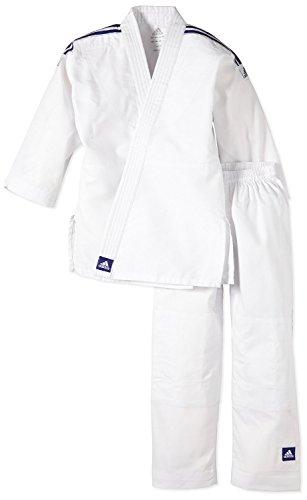 adidas - Kimono judo enfant débutant ADIJ180E (ceinture non fournie) (100/110)