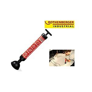 ROTHENBERGER Industrial Saug - Druckreiniger RoPump 71991, Abfluss - Reiniger zum Beseitigen von Rohr - Verstopfungen in Bad, Küche und WC