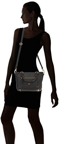 Gerry Weber  Napoli Handbag, sacs à main femme Noir - Schwarz (black 900)