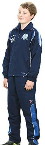Precision Ultimativ Sportkleidung Vlies Joggen Laufen Activewear Trainingsanzug Jacke - Marineblau/Royal/weiß, 46-48