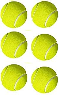 XX xoNex Cricket Tennis Balls (Heavy Weight Balls) for Cricket Practice Training Cricket Tennis Balls (6 Balls, Green)