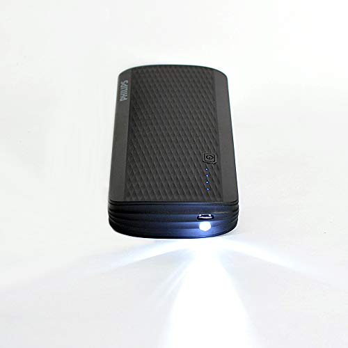Philips DLP2713NB 13000mAH Lithium-Ion Power Bank (Black) Image 3