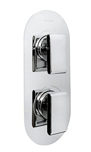 Bristan PIV2 SHCVO C Pivot 2 - Válvula de ducha termostática empotrable...