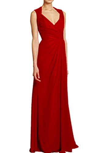 Victory Bridal - Robe - Crayon - Femme Rouge - Dunkel Rot