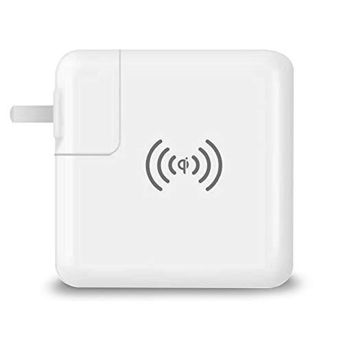 XUNMAIF ELE High Wireless-Ladegerät Power Bank, Ladegerät, Ladegerät für tragbare Telefone Hohe Kapazität Schnellladung externer Akku für iPhone Android-Handy Speed Smartphone, White -