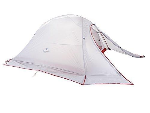 Zelt fur 2 Personen Ultraleicht Wasserdichten Zelt 4 season Double-layer Tent...