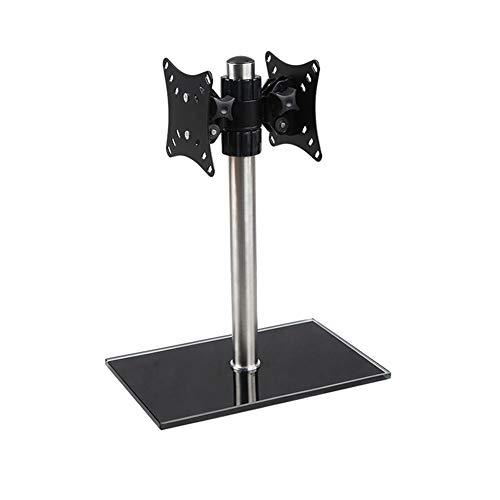 Universal Tischfuß (WCYBRACKET Wand-TV,TV-Standfuß, Universal-Tischfuß-Standfuß TV-Standfuß Mit Halterung Höhenverstellbar Für 14