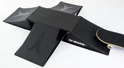 Ice Breaker Skateboard/BMX-Rampe, 4-Auffahrten, 5-teilig