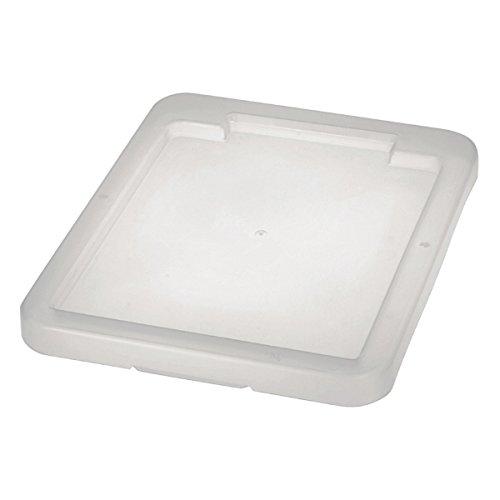 OKT 10207001000 Deckel für Dreh-Stapelbox, transparent