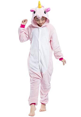 Kigurumi Pijama Animal Entero Unisex para Ni/ños con Capucha Cosplay Pyjamas Elefante Ropa de Dormir Traje de Disfraz para Festival de Carnaval Halloween Navidad