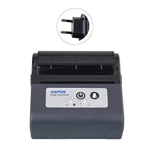 Funihut Tragbar Mini 58mm POS Drucker Thermischer Empfangs WiFi Bluetooth Wireless Ticket Printer POS-Ticketdrucker Kompatibel IOS, Android Und Windows