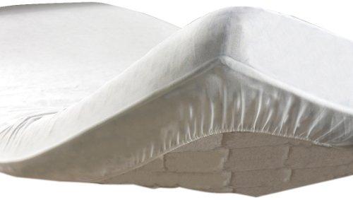 Douceur d'Intérieur - 1640075 - Protège Matelas Molleton - Uni - Blanc - 90 x 190 cm