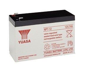 2 x Yuasa NP7-12 bateria de alarma