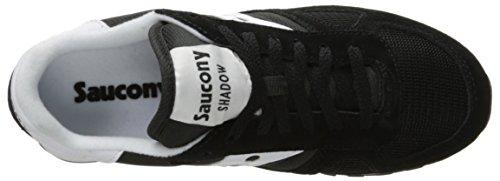 Saucony Shadow Original, Pompes à plateforme plate mixte adulte Noir (Black)