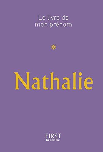 Le Livre de mon prénom - Nathalie par Jules LEBRUN