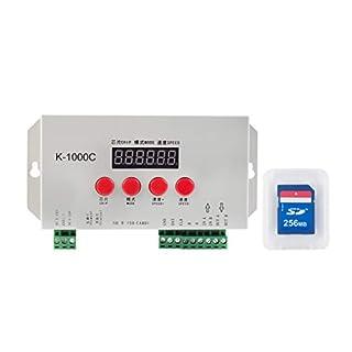 BTF-LIGHTING K-1000C(T-1000SUpdated)WS2812BAPA102CSK6812WS2811WS2801 Led Strip2048PixelsControllerDC5-24VAddressableProgrammableControllerwithSDCard