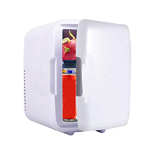 JklausTap Mini-Kühlschrank, persönlicher Kühlschrank-Kühler und Wärmer, elektrischer Kühler-Wärmer, tragbares Auto-Kühlschrank-Thermoelektrik-System für das Auto im Büro zu Hause