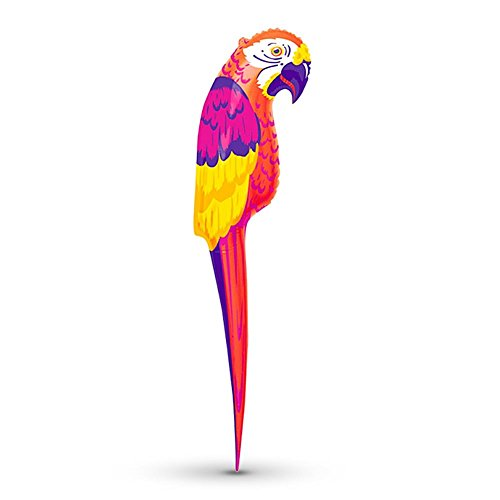 Preisvergleich Produktbild HC-Handel 922271 aufblasbarer Papagei Gummipapagei 106 x 19 cm