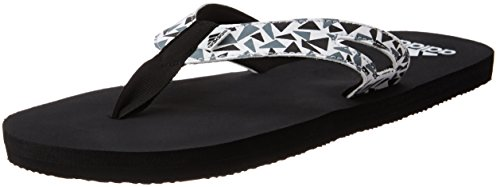 adidas Men's Ozor Ms Black, White and Visgre Flip-Flops and House Slippers - 8 UK/India (42 EU)