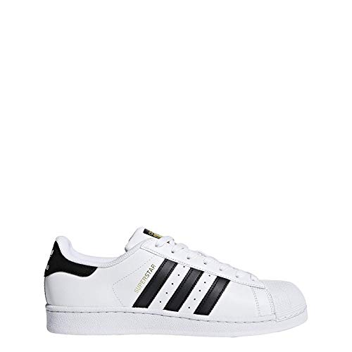new arrival a6b2f 8898d adidas Superstar C77124, Baskets Mode Homme - Blanc -EU 42