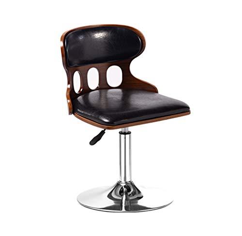 DHMHJH Rotierender Barhocker Antiker Bar Designerhocker höhenverstellbarer Hocker (größe : Sitting height40~55cm)