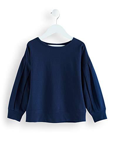 RED WAGON Mädchen Sweatshirt mit Raffungen, Blau (Navy), 152 (Herstellergröße: 12 Jahre)