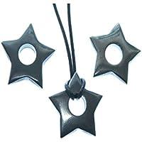 Hämatit 1 Kleiner Stern mit Runden Bohrung 0.8 cm Größe ca. 2.5 cm Sein Gewicht 2 g. preisvergleich bei billige-tabletten.eu