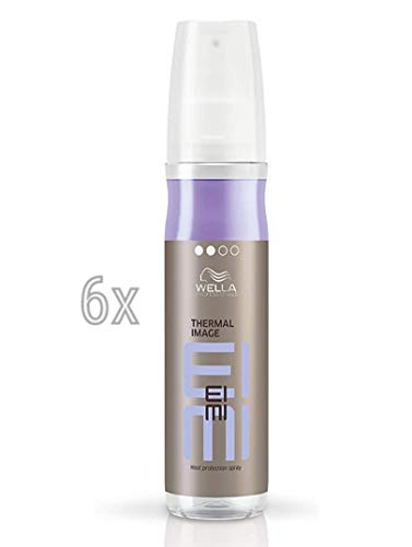 Wella Thermal Image 6 x 150 ml Hitzeschutz Spray Styling EIMI Professionals