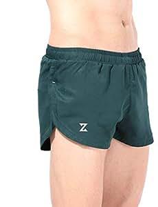 Azani 2 Inch Ultra Running Shorts - Bottle Green, S