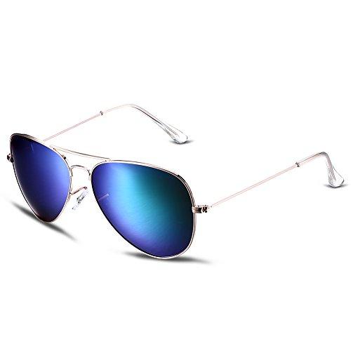 Sonnenbrille Mens Fashion Driving Gläser für Outdoor-Sport Running Surfing Angeln Golf mit Fall -UV400 Schutz (Steampunk Kit Für Männer)