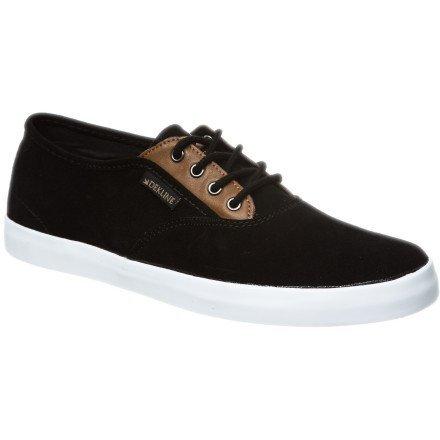 Dekline Daily Skateboard Schuhe Unisex, Schwarz - Black Camel - Größe: 46 (Dekline Schuhe Herren)