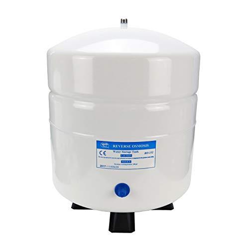 Trinkwasserladen Wassertank Osmosetank aus Stahl 3,2 Gallonen ca. 12 Ltr. brutto - Vorratsbehälter