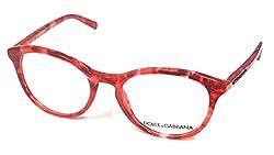 Dolce & Gabbana Eyeglasses DG3223 2923 Red Marble 47 18 140