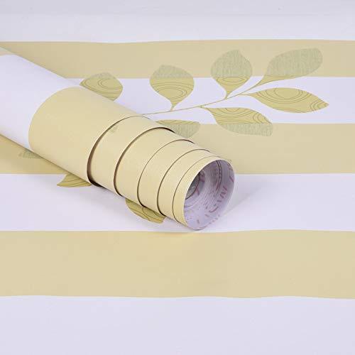 lsaiyy PVC wasserdichte Selbstklebende Tapete College Schlafsaal Schlafzimmer warme Dekoration Tapete- 45cmx10m -