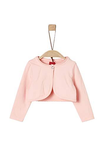 s.Oliver Baby-Mädchen Strickjacke 59.902.31.8439 Rosa (Light Rose 4058), Herstellergröße: 86