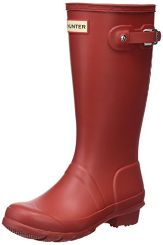 Hunter Jungen Casual, Rot, 32 EU (Kinder Original Hunter Stiefel)