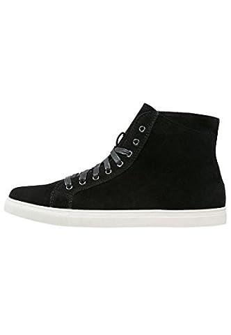 YOURTURN Herren Sneakers High Schwarz, Größe