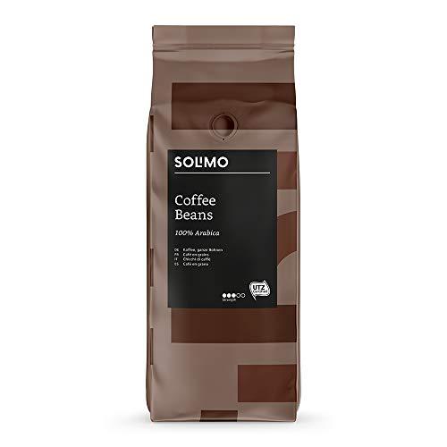 Marca Amazon Solimo Granos de café 2 kg (2 x 1 kg)
