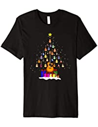 Guitar Christmas Tree T-Shirt Funny Merry Xmas Guitars Gifts