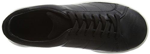 Wood Wood Bo Shoe, Baskets Basses Mixte Adulte Noir - Noir