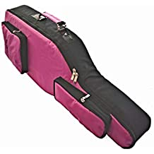 Funda para guitarra Hero 6, color rosa y negro