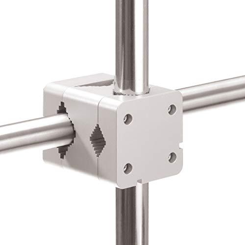 Support parasol balcon Sunnystar - Protection solaire flexible dans un espace réduit - Support de fixation parasol pour les manches de Ø 20 à 50mm - Pied de parasol en aluminium Made in Germany